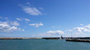 浜猿払漁港の様子