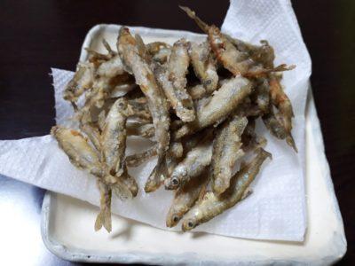 公魚の天ぷら