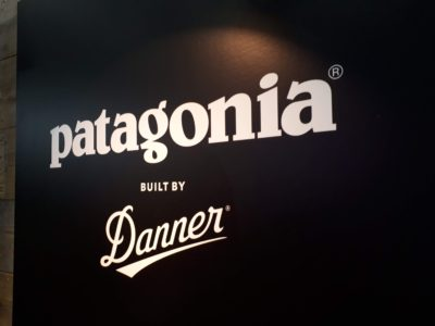 パタゴニアのブース