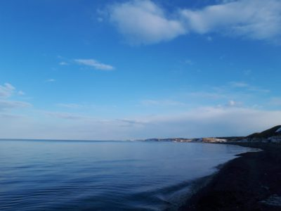 オホーツク海の様子