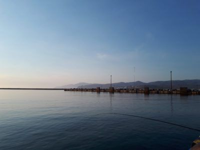 岩内漁港の様子