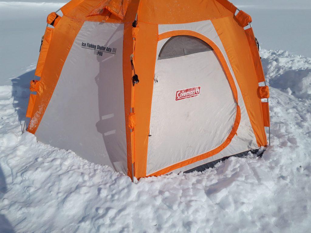 テントの設営